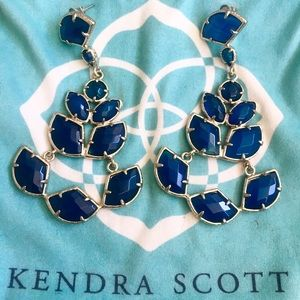 Kendra Scott Rare Chandelier Statement Earring
